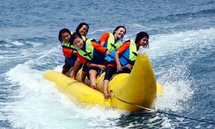 Enjoy Banana Rides in Denpasar, Bali