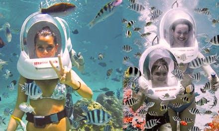 Enjoy Sea Walking in Denpasar, Bali