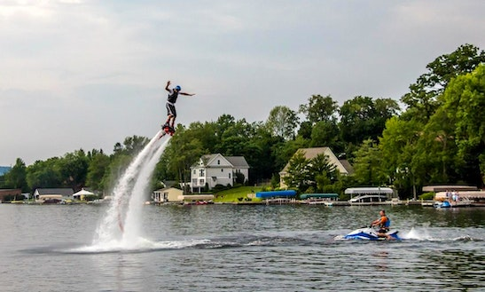 Flyboarding In Riverton, Connecticut
