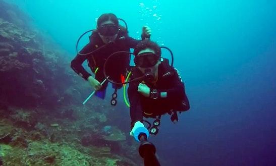 Enjoy Diving In Derawan Islands, Kalimantan