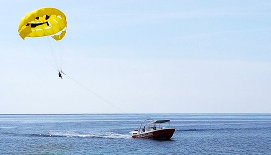 Enjoy Parasailing In Paphos, Cyprus For 1 Pax
