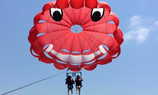 Enjoy Parasailing In Paphos, Cyprus For 2 Pax