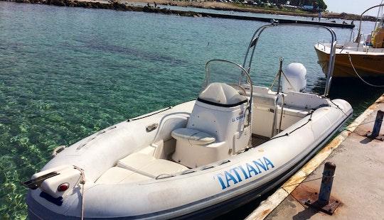 Rent Tatiana Rigid Inflatable Boat In Paphos, Cyprus