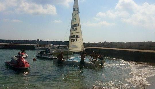 Rent Hobie Cat Beach Catamaran In Paphos, Cyprus