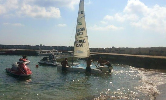 Rent Hobie Cat Beach Catamaran In Paphos, Cyprus