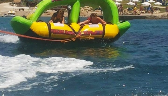 Enjoy Crazy Shark Rides In Paphos, Cyprus