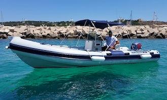 Rent 21' Clubman 21 Rigid Inflatable Boat in Santa Maria di Leuca, Puglia