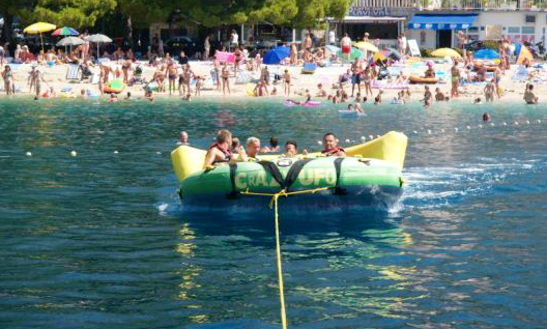 Enjoy Sofa Rides In Baška Voda, Croatia