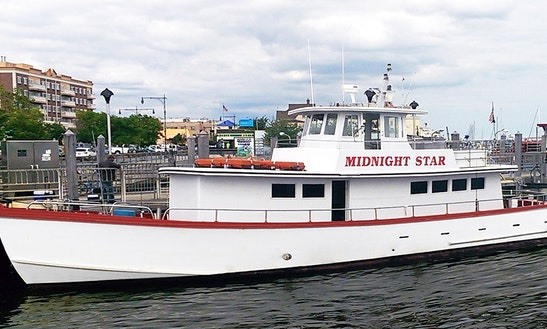 Passenger Boat Fishing Charter In New York
