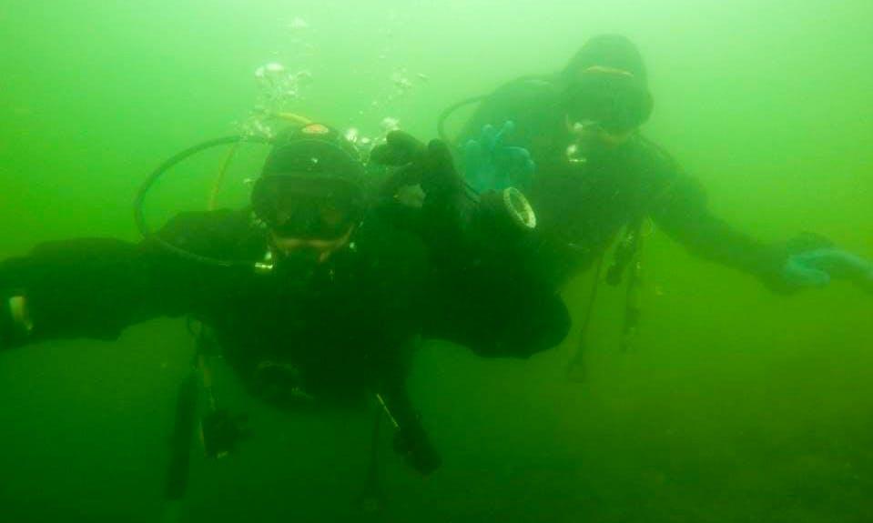 Enjoy Diving Courses in Łaziska Górne, Poland