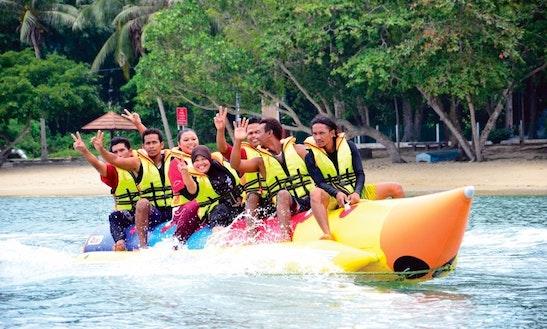 Enjoy Banana Rides In Pulau Pangkor, Malaysia