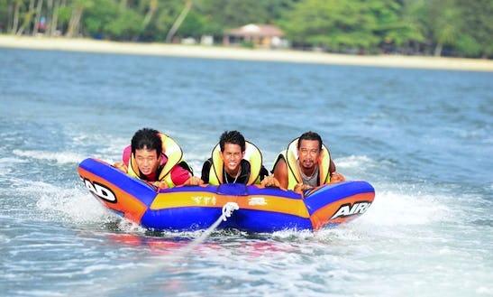 Enjoy Tubing In Pulau Pangkor, Malaysia