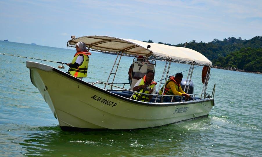 Enjoy Fishing in Pulau Pangkor, Malaysia on Center Console