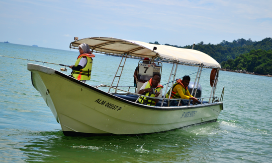 Enjoy Fishing In Pulau Pangkor, Malaysia On Center Console