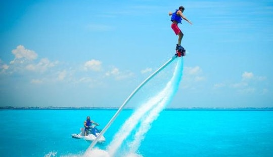Enjoy Flyboarding In Nusa Dua, Bali, Indonesia