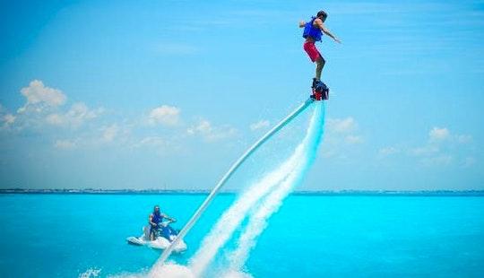 Enjoy Flyboarding In Nusa Dua, Bali, Indonesia