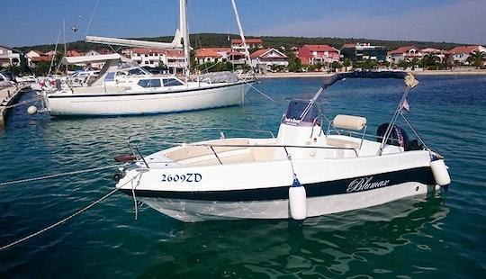 Rent 19' Bluemax Center Console In Bibinje, Zadar