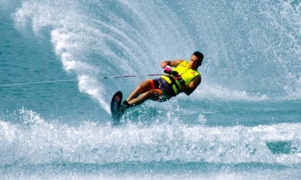 Enjoy Water Skiing in Nusa Dua, Bali, Indonesia