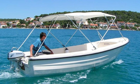 Exciting Boating Day In Cavtat, Croatia With This Dinghy