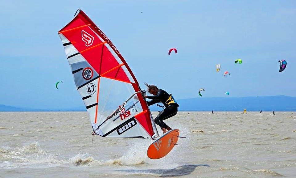 Enjoy Windsurfing in Podersdorf am See, Burgenland