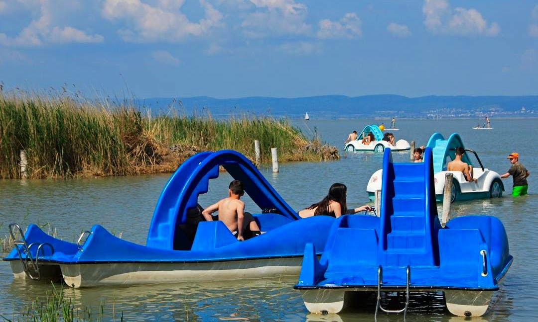 Rent a Paddle Boat in Podersdorf am See, Burgenland