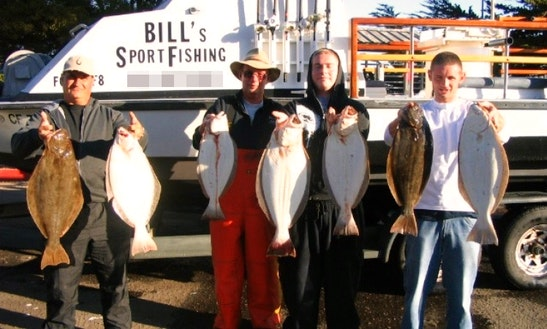Rancho Cordova Fishing Charter On 24ft