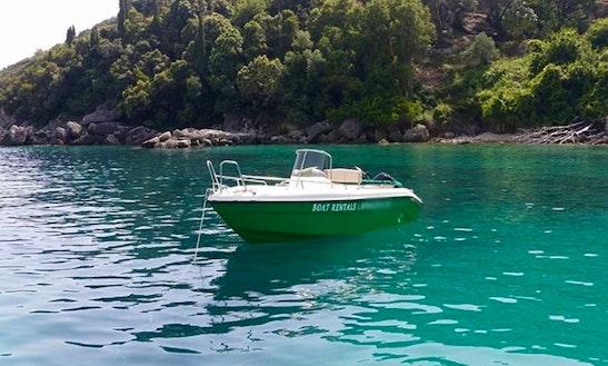 Enjoy Parga, Greece On Posiedon Blu Water Power Boat!