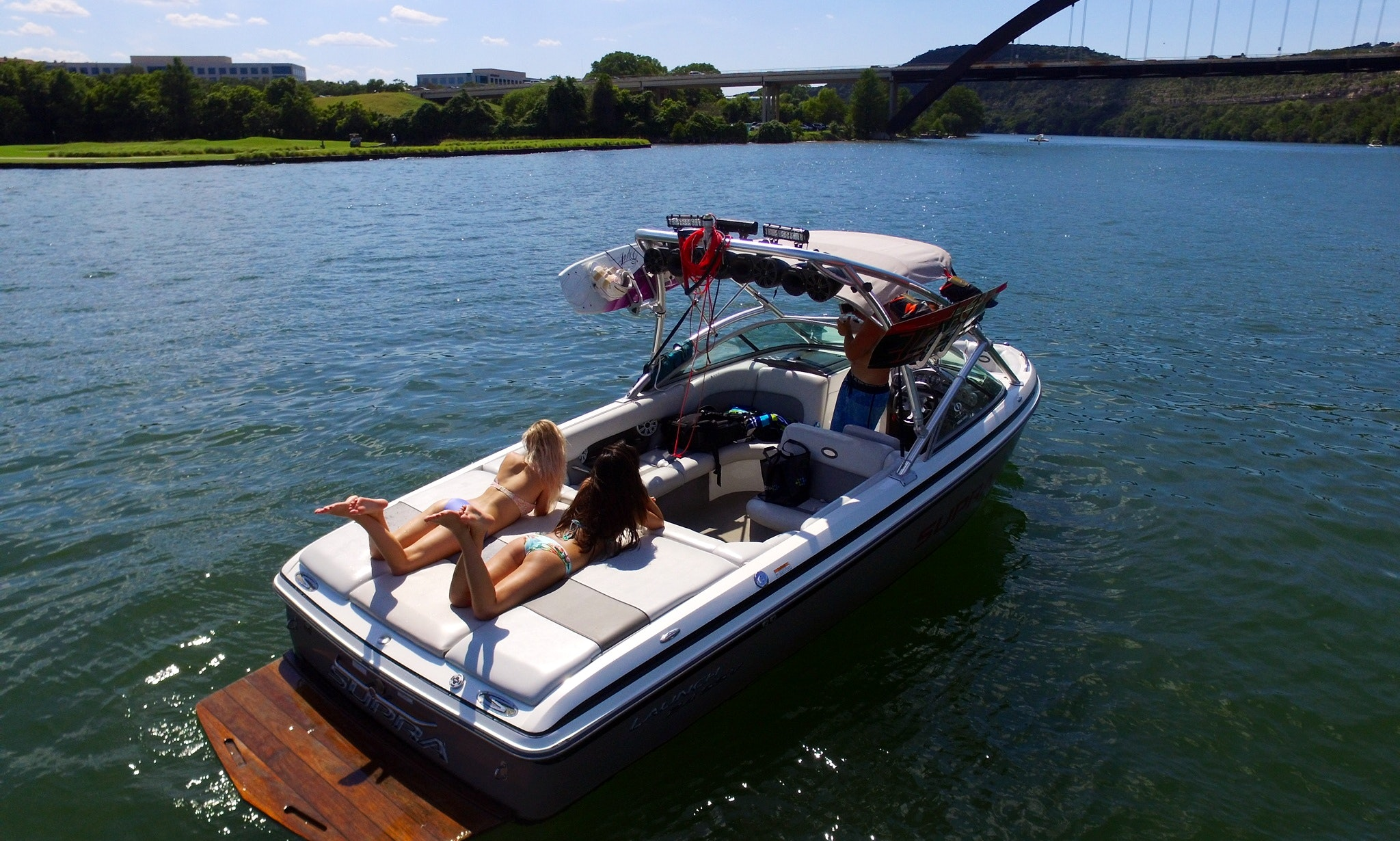 24ft Supra Rental on Lake Travis or Austin!!