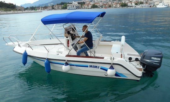 Deck Boat Rental In Makarska