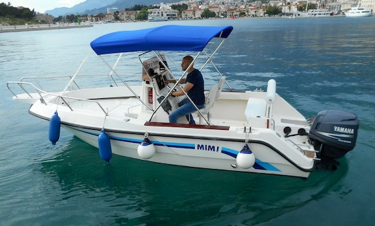 Deck Boat Rental In Makarska