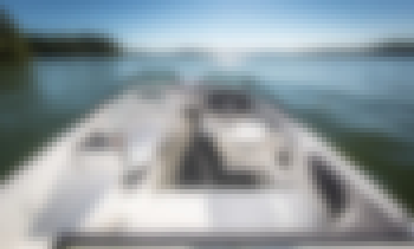 2017 Searay Sports Boat in Miami Beach with Captain, Gas and Water Sports included!