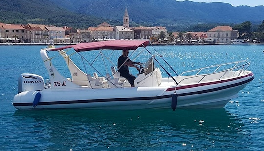 Captained Charters On A Rib Boat In Jelsa, Croatia