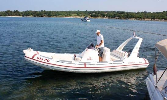 Rent 21' Maestral 650 Rigid Inflatable Boat In Poreč, Croatia