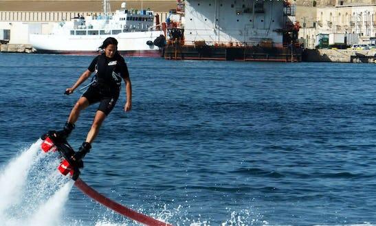 Enjoy Flyboarding In Birkirkara, Malta