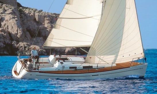 Charter 35' Dufour 34 Performance Cruising Monohull In Punta Ala, Italy