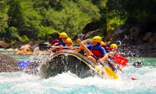 Enjoy Rafting Trips In Žabljak Crnojevića, Montenegro