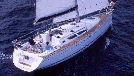 Charter 35' Sun Odyssey 35 Cruising Monohull In Punta Ala, Italy