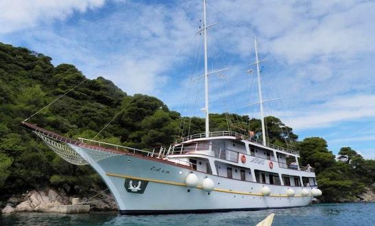 Charter 118' Ms Eden Sailing Mega Yacht In Jesenice, Croatia
