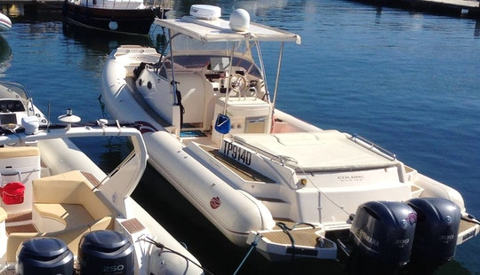 Charter 38' Gommone Rigid Inflatable Boat In Marsala, Sicilia