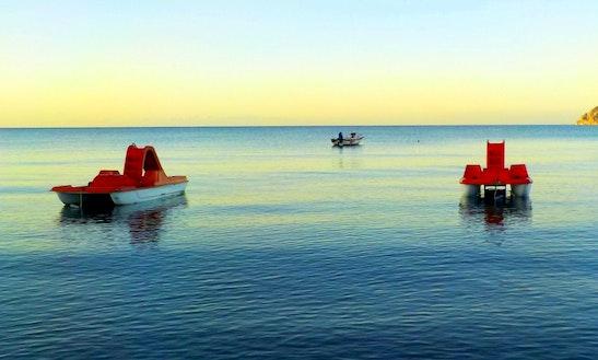 4-person Paddle Boat Rental In San Pawl Il-baħar, Malta