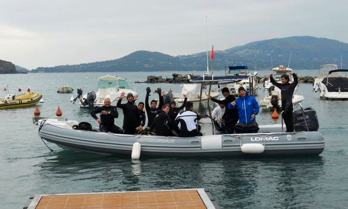 Enjoy Diving Trips and Courses in Lacona, Italy