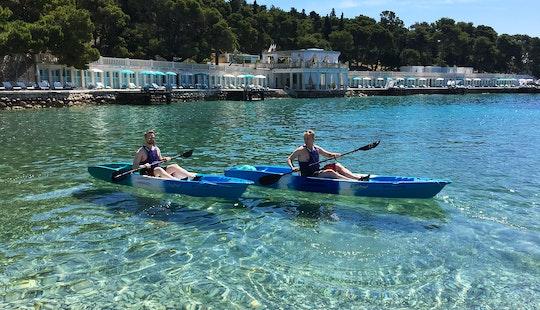 Rent A Single Kayak In Hvar, Croatia
