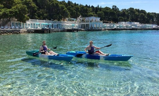 Single Kayak Rental In Hvar, Croatia