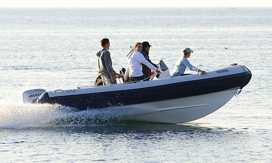 Rent 18' Rigid Inflatable Boat In Medulin, Croatia