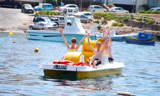 Rent A Paddle Boat In Il-mellieħa, Malta