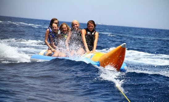 Looking For Some Fun Ride? Try A Banana Boat Ride!