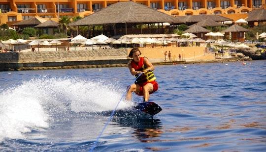 Enjoy Wakeboarding In Il-mellieħa, Malta