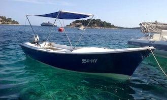 Rent a Boat Pasara Val 8 hp in Hvar, Croatia