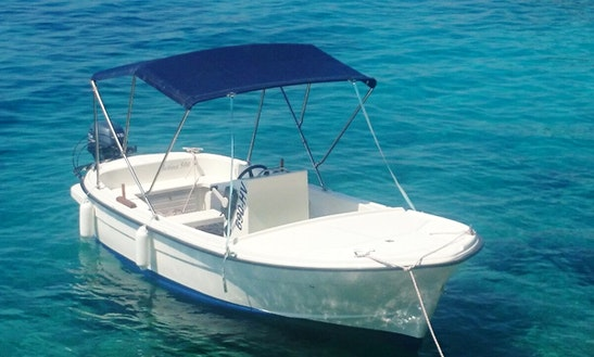 Rent A Boat Betina 15hp Center Console In Hvar, Croatia