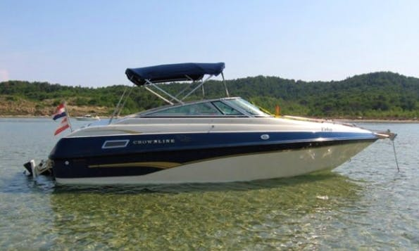 Rent 20' Crowline Motor Yacht in Tisno, Croatia
